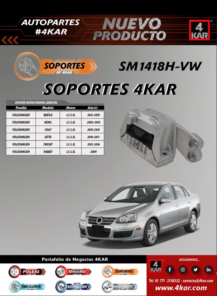 SM1418H-VW VOLKSWAGEN BORA SOPORTE 4KAR