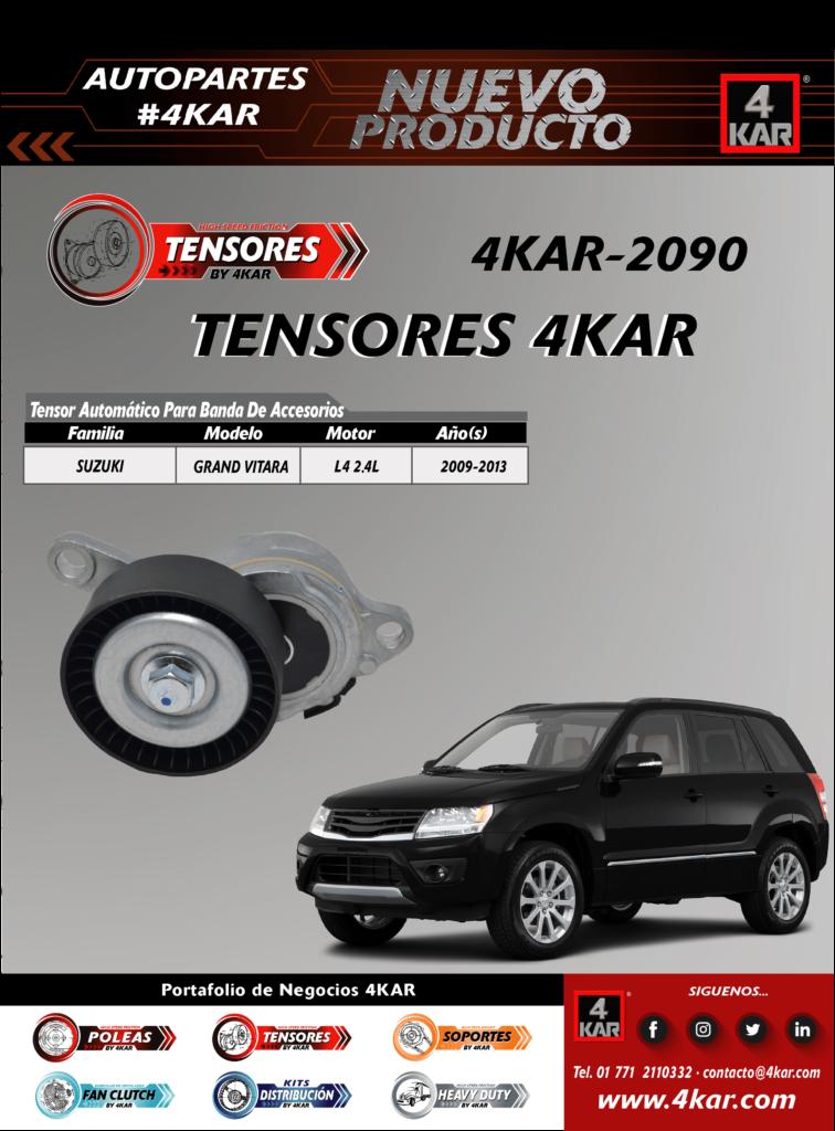 4KAR-2090 Tensor  SUZUKI Grand VitaraL4 2.4L2009-2013